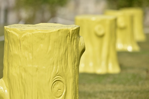 Foundation Myths by Ordinary Architecture at York Art Gallery's Artists Garden